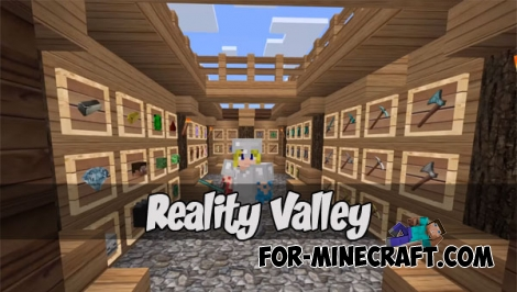 Reality Valley pack for Minecraft PE 1.2