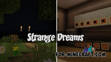 Strange Dreams map for MCPE 1.2