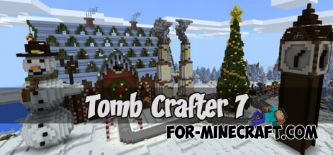 Tomb Crafter 7 map (Minecraft Bedrock)