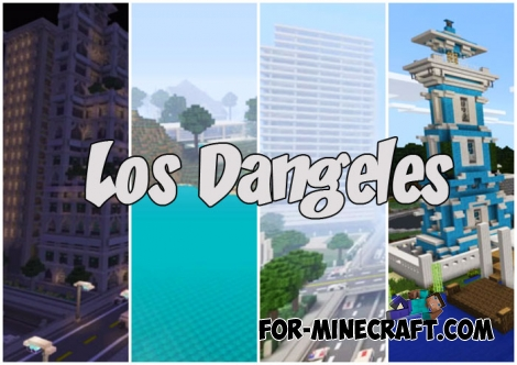 Los Dangeles for Minecraft PE (Bedrock)