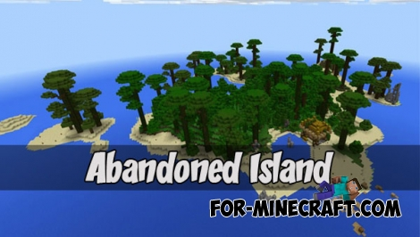Abandoned Island map for Minecraft PE 1.2