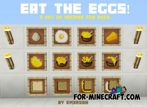 Eat the Eggs mod for Minecraft PE (IC)