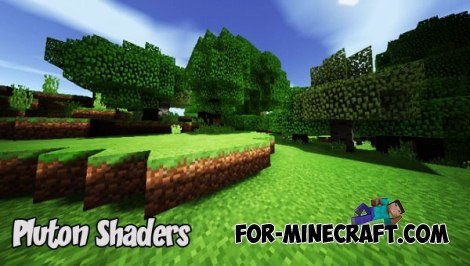 Pluton Shaders v1.2 for Minecraft PE 1.2.5+