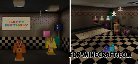 From FNAF 2 to Minecraft PE 1.2.5