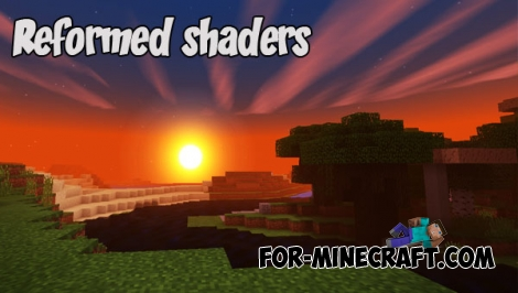 Reformed shaders for MCPE 1.2+