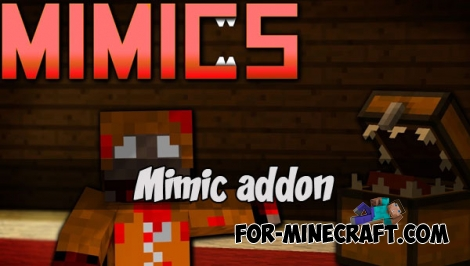 Mimic addon for Minecraft Pocket Edition 1.2+