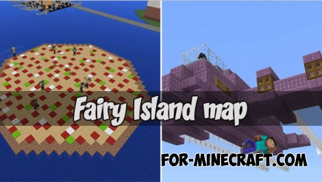 Fairy Island map for MCPE 1.2