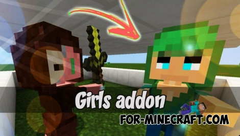 Girls addon (Minecraft Bedrock)