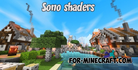 Sono shaders for Minecraft PE 1.2