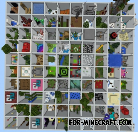 SG Parkour map for MCPE 1.2