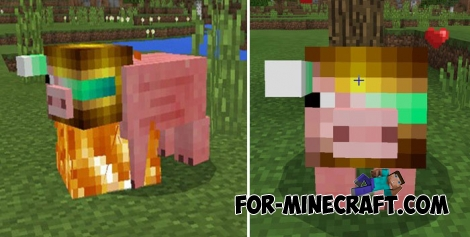 Piggy Cyborg addon for Minecraft Bedrock
