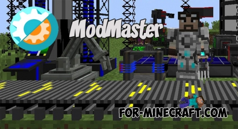 ModMaster - Mod Maker for MCPE (IC)
