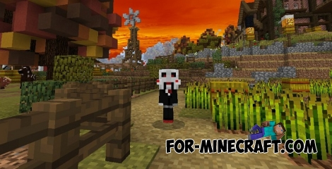 Halloween skin pack (Minecraft PE 1.2.5)