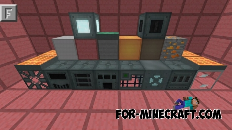 Ender IO mod v1.0 for Minecraft PE (Bedrock)
