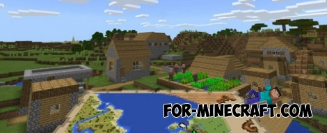 How to easy find a village in Minecraft PE (addon)