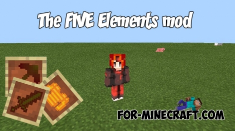 The FIVE Elements mod (MCPE)
