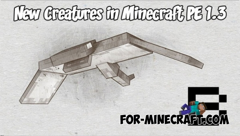 New Creatures in Minecraft PE 1.3 / 1.4 (Mob B)