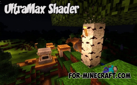 UltraMax Shader v1.4 for Minecraft Bedrock (PE) 1.2.8