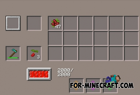 Crop Harvester addon for Harvest Craft PE (MCPE)