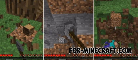 Paxels mod for Minecraft PE Bedrock (IC)