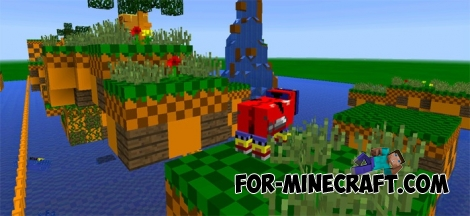 Sonic Adventure map for MCPE 1.2 - Bedrock