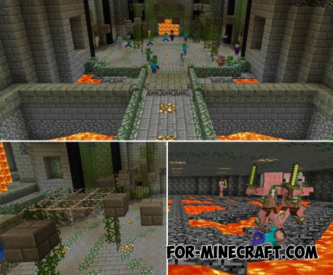 Minecraft Story Mode Arena for MCPE 1.2.X