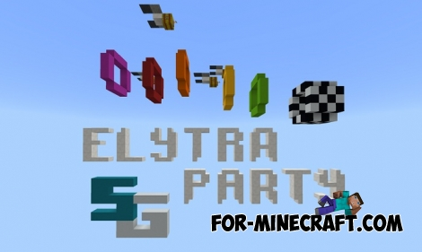 Elytra Party map for Minecraft PE 1.2