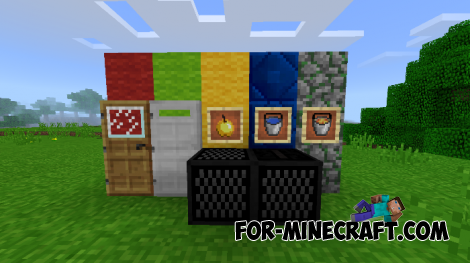 More Features texture pack for MCPE 1.2
