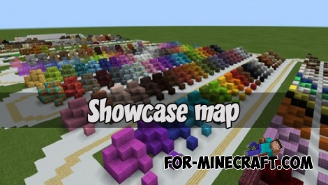 Showcase map for Minecraft PE 1.2.X