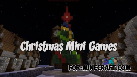 Christmas Mini Games map for MCPE 1.2