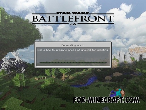 Star Wars Battlefront Texture pack for MCPE 1.2