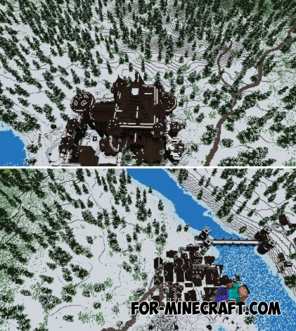 Dreadfort map - Game of Thrones for MCPE 1.2