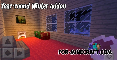 Year-round Winter addon for MCPE 1.2