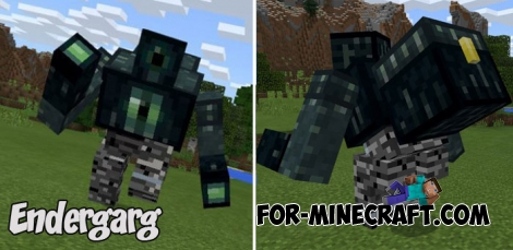 Endergarg (Strong Boss) addon for MCPE 1.2