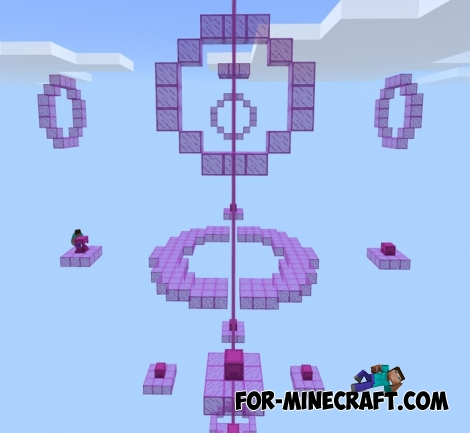 Wing Wars map for MCPE 1.2