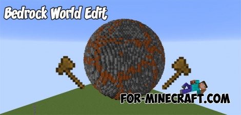 Bedrock World Edit for MCPE 1.2