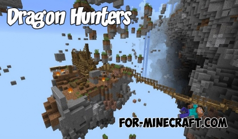 Dragon Hunters map for Minecraft PE 1.2