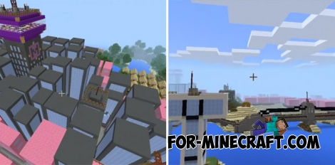 Jump City Teen Titans for Minecraft Bedrock