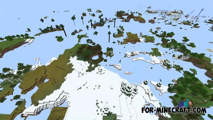 Minecraft PE Ultra Amplified Survival Map