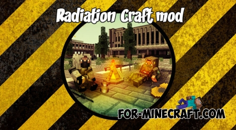 Radiation Craft mod v1.24 for MCPE