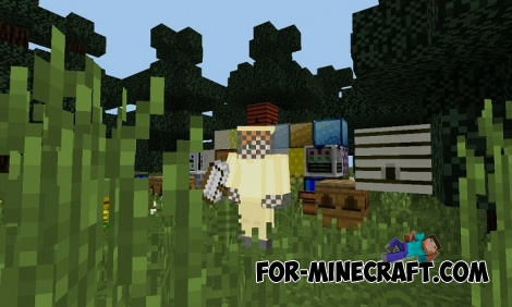 Forestry PE mod v5.5 (Minecraft PE) (IC)