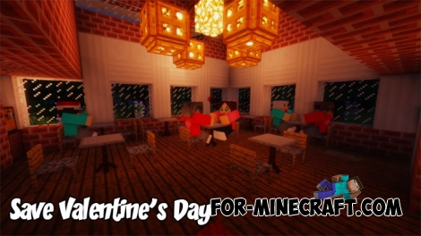 Save Valentine's Day map for Minecraft 1.2