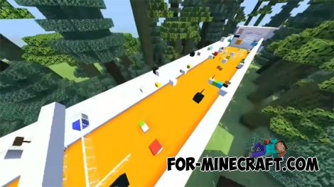 Spectacular Parkour map for Minecraft BE 1.2
