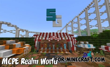 MCPE Realm World map (SkyGames)