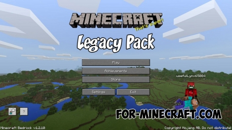 Legacy Pack for Minecraft PE 1.2