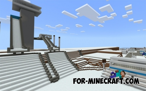 Winter Olympic Games in Minecraft BE