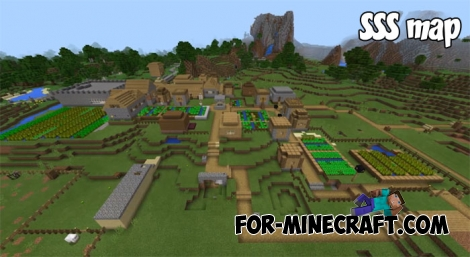SSS map for MCPE 1.2