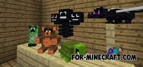 Stuffed Toy addon for MCPE 1.2