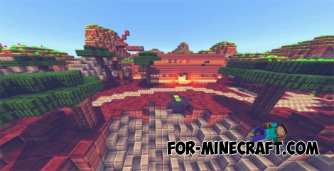 Minecraft PE Fortnite map