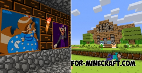 Super Mario texture pack for Minecraft 1.2.14